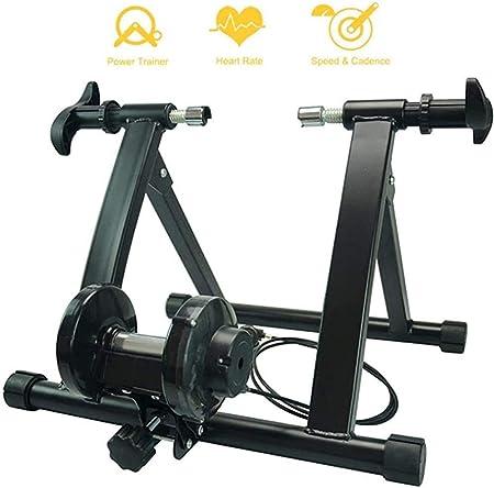 Montar en bicicleta turbina entrenador soporte magnético, pesado ...