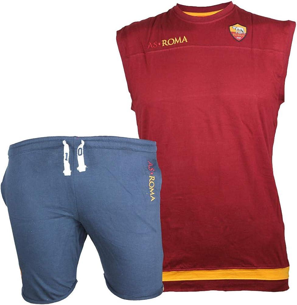AS Roma Completo Canotta E Pantaloncini Bambino R13127