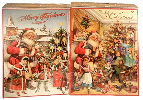 Confiserie Heidel - 2017 Advent Calendars - Pack of 2