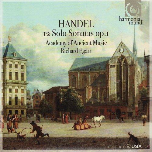 Handel: 12 Solo Sonatas Op. 1 ()