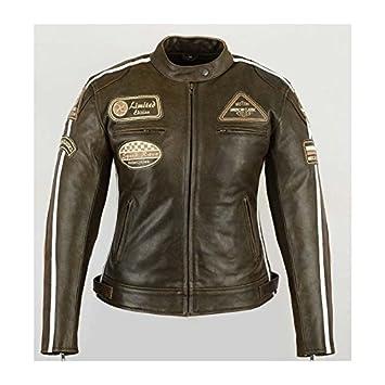 Veste femme moto vintage