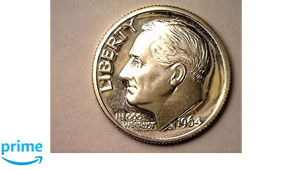 Uncirculated 2009-S ONE ROOSEVELT FROSTY CAMEO DIME From US Proof Set