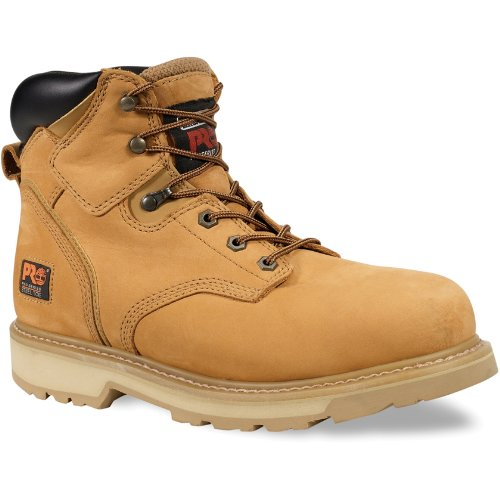 Timberland Men's PRO Pit Boss Work Boot Steel Toe Wheat 12 EE 12 EE US