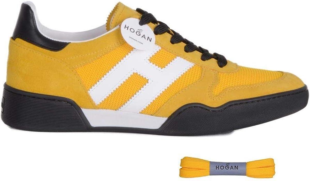 Hogan - Zapatillas para Hombre Amarillo Amarillo IT - Marke Größe