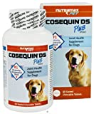 Nutramax Labs Cosequin DS Double Strength Plus MSM Joint Health Supplement for Dogs – 60 Chewable Tablets, Pack of 2, My Pet Supplies
