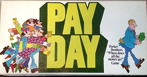 Payday Board Game 1975 Edition