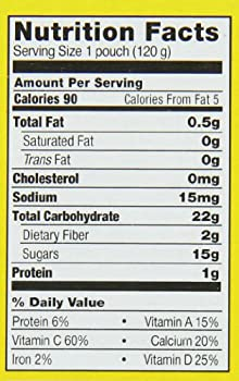 Earth's Best Organic Fruit Yogurt Smoothie, Strawberry Banana, 4.2 Ounce (Pack Of 12) 1