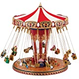 Gold Label World's Fair Swing Carousel Music Box