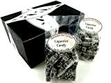 Hermann the German Liquorice Candy, 5.29 oz Bags in a BlackTie Box (Pack of 2)