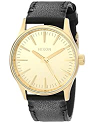 Nixon Men's A377513 Sentry 38 Leather Watch