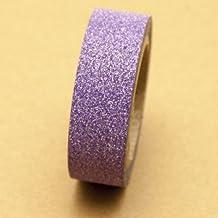Glitter Washi Tape Purple 5m x 1.5 cm by somi