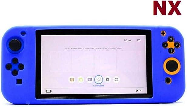 REPRO Funda Silicona para Nintendo Switch NX Carcasa Estuche antigolpes Azul: Amazon.es: Electrónica