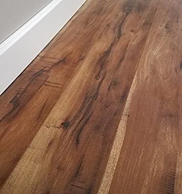 Turtle Bay Floors Sawmilled Acacia Floating Laminate Flooring 12mm Unilin AC4 Syncronized Embossed - Choose From 2 Colors