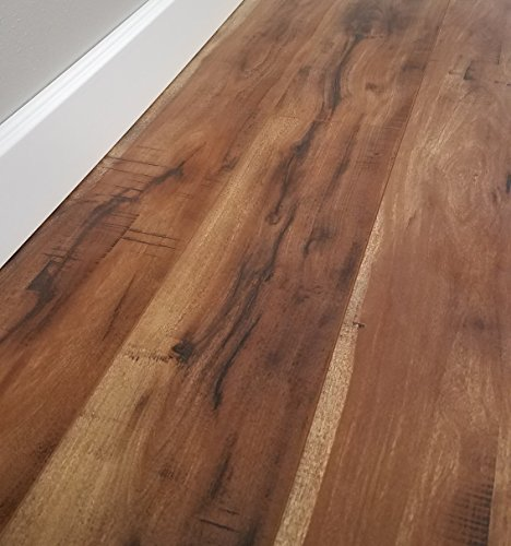 Turtle Bay Floors Sawmilled Acacia Floating Laminate Flooring 12mm Unilin AC4 Syncronized Embossed - Choose from 2 Colors (Sample, Barnum)