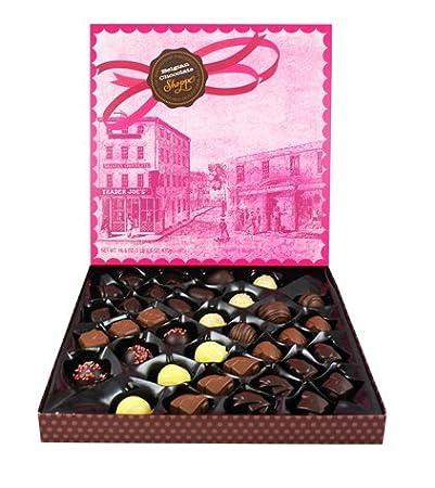 Amazon.com : Trader Joe\'s Belgium Chocolate Shoppe...16.6 oz gift ...