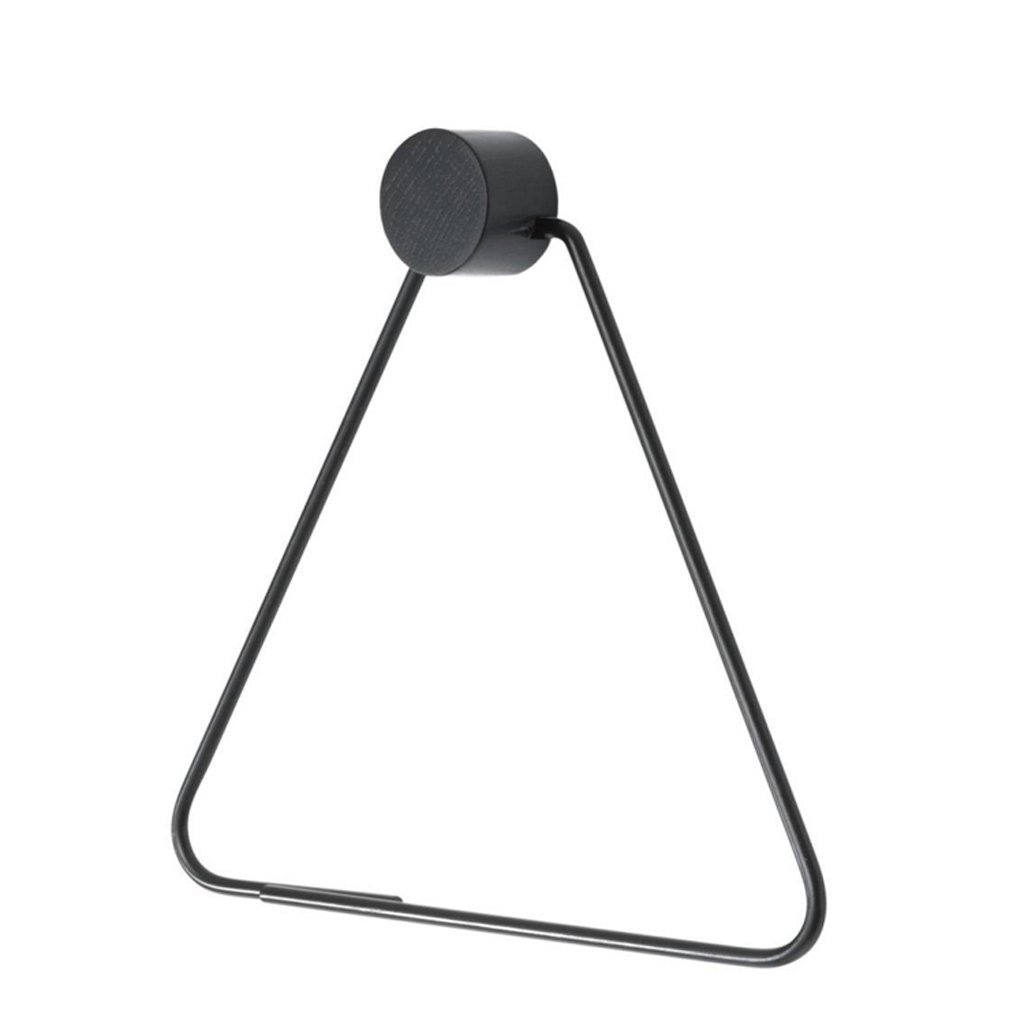 Jueven Northern Europe Wall-Mounted Triangle Metal Paper Towel Holder Toilet Tray Modern Creative Roll Holder Toilet Paper Holder Box Bathroom Accesories