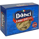 DaVinci Pasta, Jumbo Shells, 12-Ounce Boxes (Pack of 12)