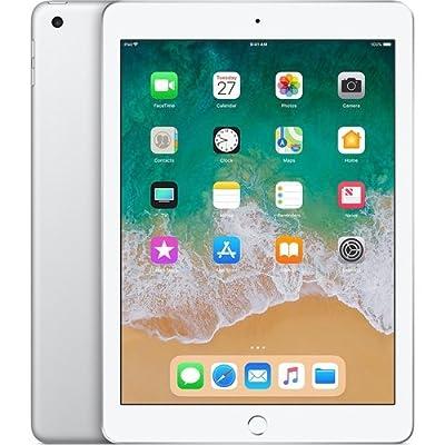 "Apple 9.7"" iPad (6th Generation, 128GB, Wi-Fi Only, Silver)"
