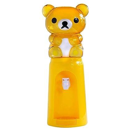 flyvirtue 2.5L Mini dispensador de Agua,Dispensador de Agua de Dibujos Animados para niños