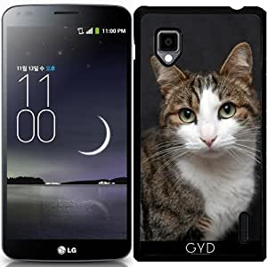 Funda para LG Optimus G (E975) - Gato by WonderfulDreamPicture