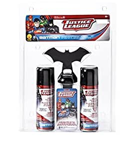 Justice League Batman Instant Fun Streamer Halloween Action Kit - Over 300 Ft of Silly String Per Can