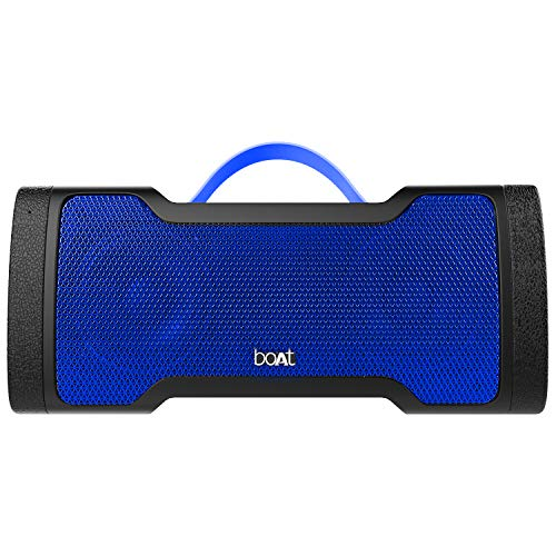 boAt Stone 1000 Portable Wireless Speaker with 14W Stereo Sound, Enhanced Bass, Rugged Design, Up to 8H Playtime and IPX5 Water & Splash Resistance (Navy Blue)