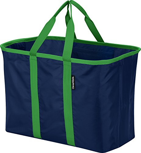 CleverMade SnapBasket XL 40 Liter Reusable Tote Bag with - Import It All c00b67edcd