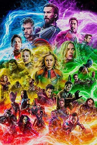Composition Notebook: Avengers Endgame Gift for Marvel