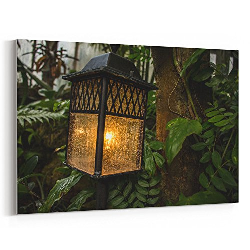 Westlake Art - Light Tree - 12x18 Canvas Print Wall Art - Canvas Stretched Gallery Wrap Modern Picture Photography Artwork - Ready to Hang 12x18 Inch (64D5-71362) (Feeder Garden Sunflower Lantern)