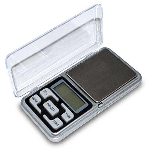 Balanza de Precision 0.01 gr 200 gr Bascula Digital Bolsillo Peso para Joyeria: Amazon.es: Electrónica