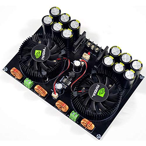 - TDA8954 420W+420W 2.0 Class D Digital Power AMP Amplifier Board w/Fan Cooling