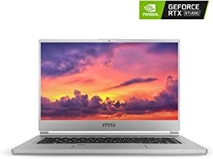 "MSI P65 Creator-1084 15.6"" 4K UHD Display, Ultra-Thin and Light, RTX Studio Laptop, Intel Core i7-9750H, GeForce RTX 2060, 32GB DDR4, 1TB Teton Glacier SSD, Win10PRO, VR Ready"