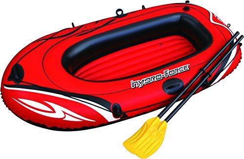 Bestway Hydro-Force Raft Set Boot, mit Blasebalg und 2 Paddeln, 188 x 98 cm