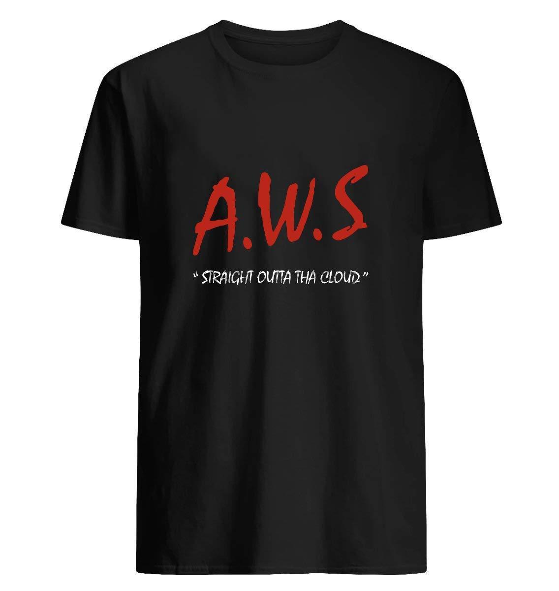 Aws Straight Outta Tha Cloud Developer T Shirt 14 T Shirt For Unisex