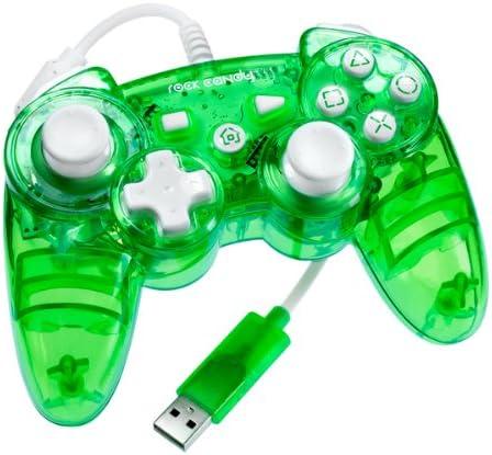PDP - Mando Con Cable Rock Candy, Color Verde Fluorescente (PS3): Amazon.es: Videojuegos