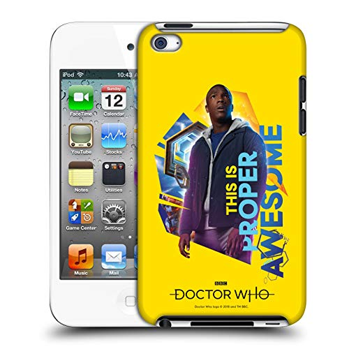 Official Doctor Who Ryan Season 11 Compositions 2 Hard Back Case Compatible for Apple iPod Touch 4G 4th Gen (Dr Who Ipod 4)