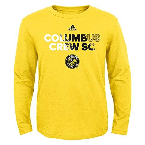 fan products of MLS Columbus Crew Boys -Short sleeve Striker Tee, Sun, X-Large (18)