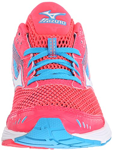 Zapatillas Para Correr Mizuno Mujeres Wave Sayonara 3 Rosa / Blanco