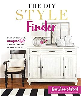 Book Cover: The DIY Style Finder: Discover Your Unique Style and Decorate It Yourself