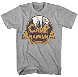 Camp Anawanna Logo Nickelodeon Salute Your Shorts Comedy TV Series Adult Mens T-shirt Graphic Tee (Medium)