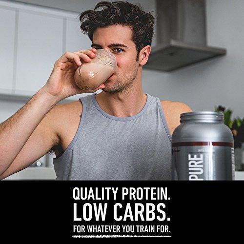 Polvo de proteína de sabor natural Isopure, 100% aislado de proteína de suero de leche, compatible con Keto, Sabor: vainilla natural, 3 libras (el empaque puede variar)