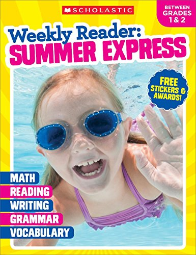 Weekly Reader: Summer Express (Between Grades 1 & 2) Workbook cover