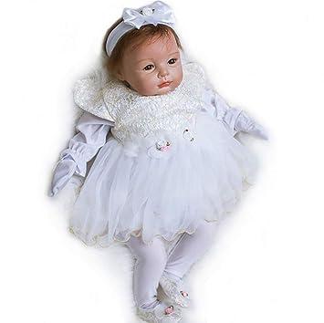 Amazon.es: ZELY Reborn niña Bebé Recién Nacido 22 Pulgadas 55cm ...