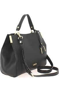 LIU JO Manhattan Satchel Zip M Nero  Amazon.co.uk  Shoes   Bags 37b8909ab1b