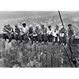 Lunch On a Skyscraper New York City Poster Art Print