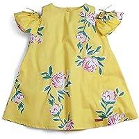 Vestido Primavera Green Amarelo - Infantil Menina