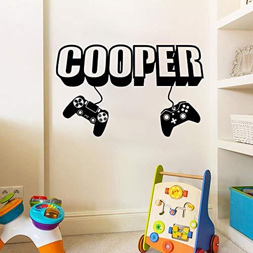 Crjzty Gamer Wall Decal Game Wall Decal Controlador de Videojuegos ...