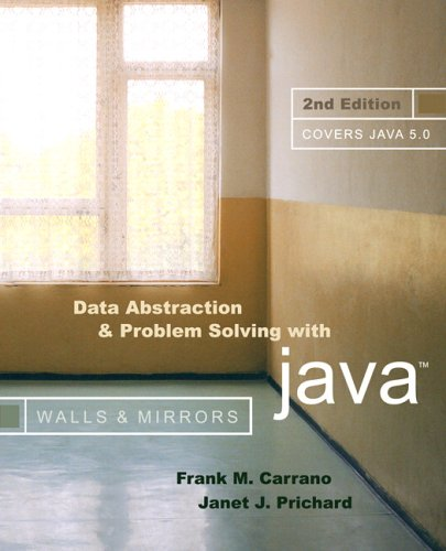 Data Abstraction and Problem Solving with Java (2nd Edition) by Brand: Addison-Wesley