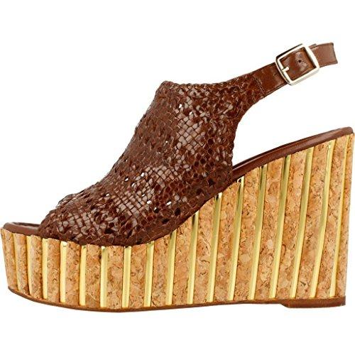 Modelo Sandalias Y 6020 Marrón marrón y Sandalias Marca Mujer Chanclas para Mujer para Marrón Color Chanclas Quintana PONS PONS Quintana pAwpz