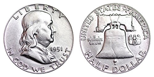1951 P Franklin Half Dollar $.50 Brilliant Uncirculated ()